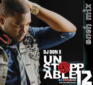 DJ DON X Unstoppable Mix 12 Cover