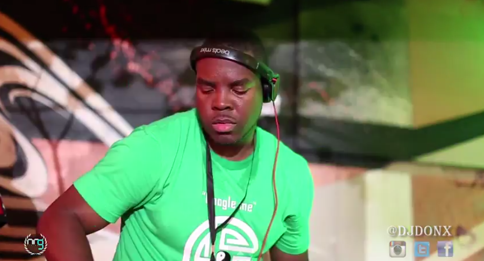 DJ Don X @ Guinness Live It Up 2014