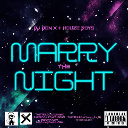 Marry the Night Mix (soundcloud)