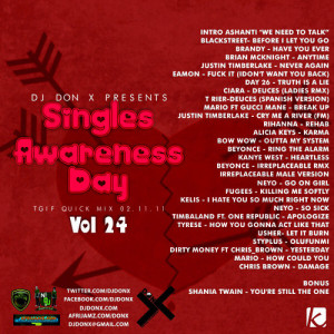 DJ Don X Mix (Single Awareness Day)